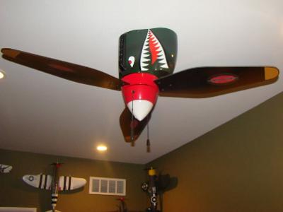 Warplane Ceiling Fan
