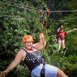 Travel Couple Zipline Insurance World Nomads