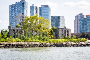 Ruins on a island in the East River