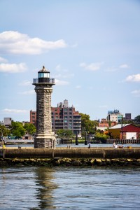 Lighthouse in East river