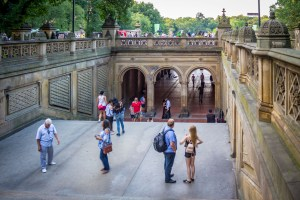 Stairway down to Bethesda Fountain