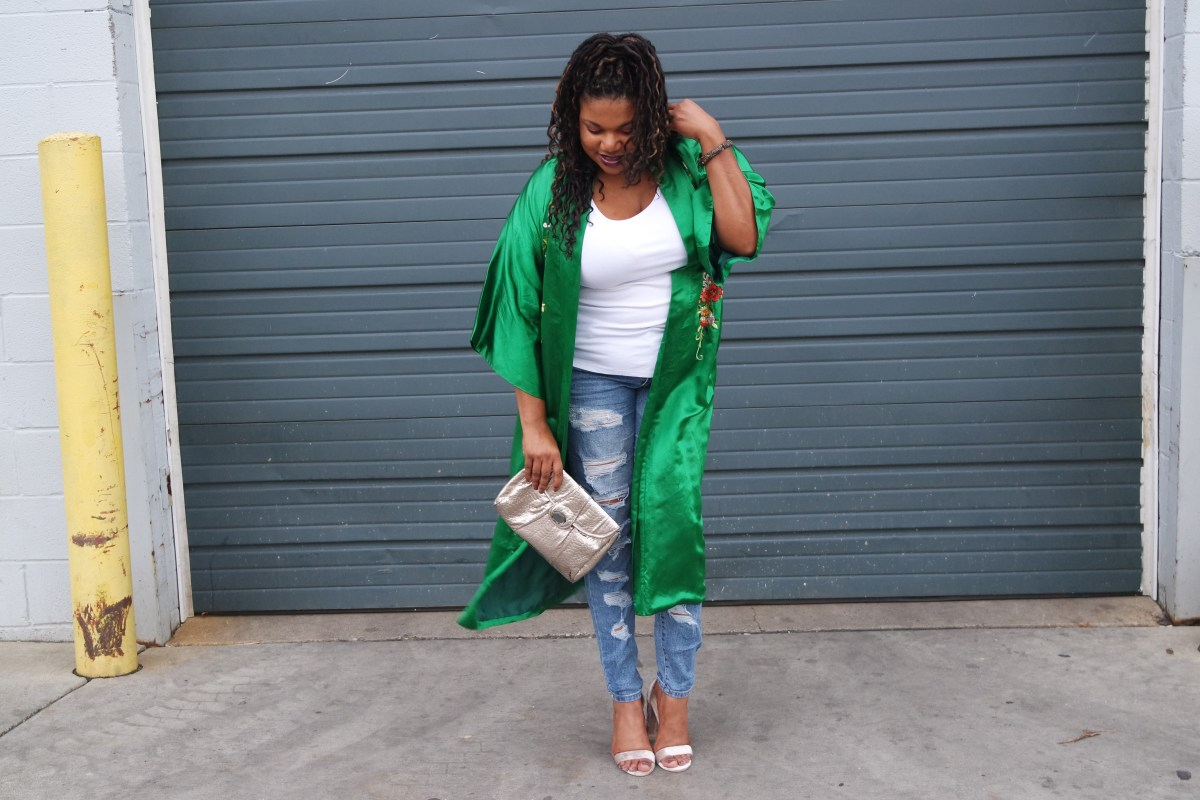 Wize Style Wednesday | Wear Your Robe Anywhere!