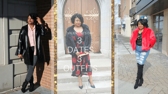 Valentine Vibes | 3 Outfits for 3 Dates