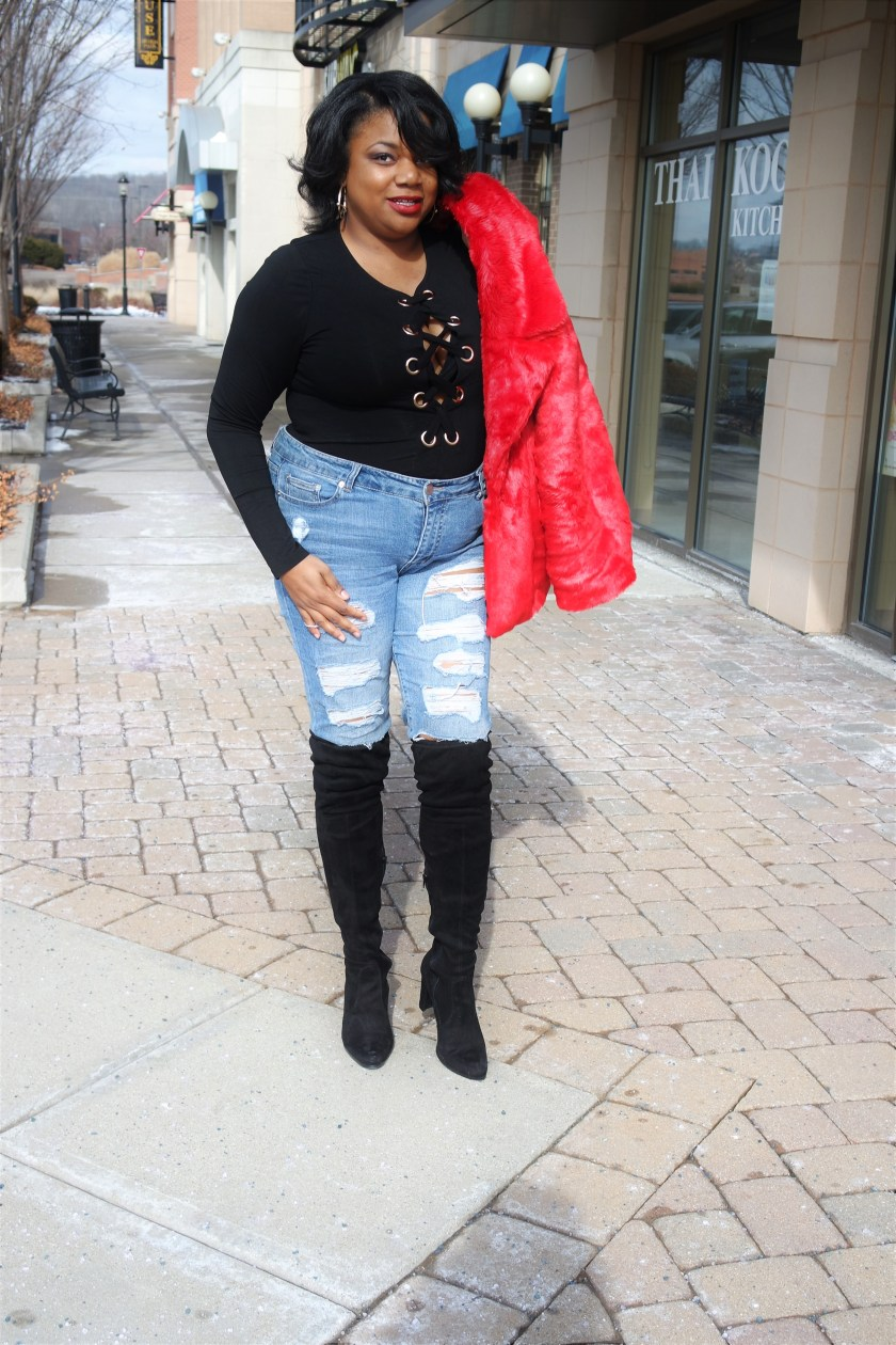 Plus Size Date Night Outfit