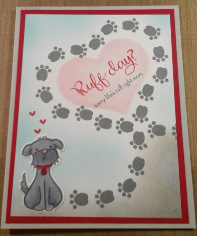 ruff day card by cyndi