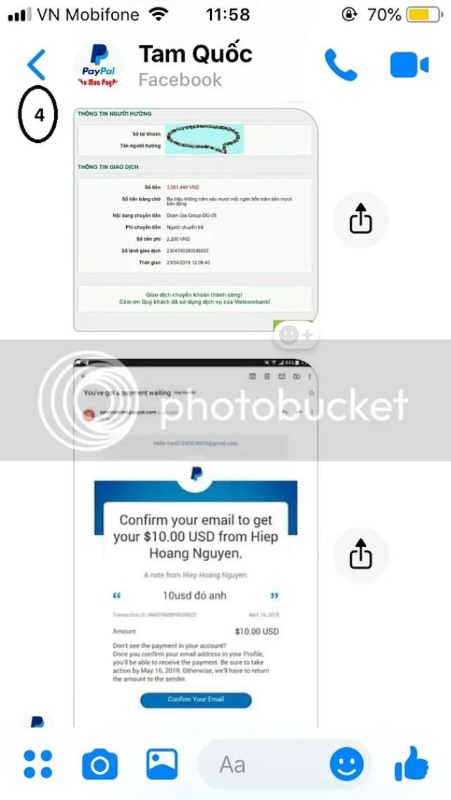 dấu hiệu scam