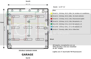 Garage Wiring Plan Photo by hemihelopilot | Photobucket
