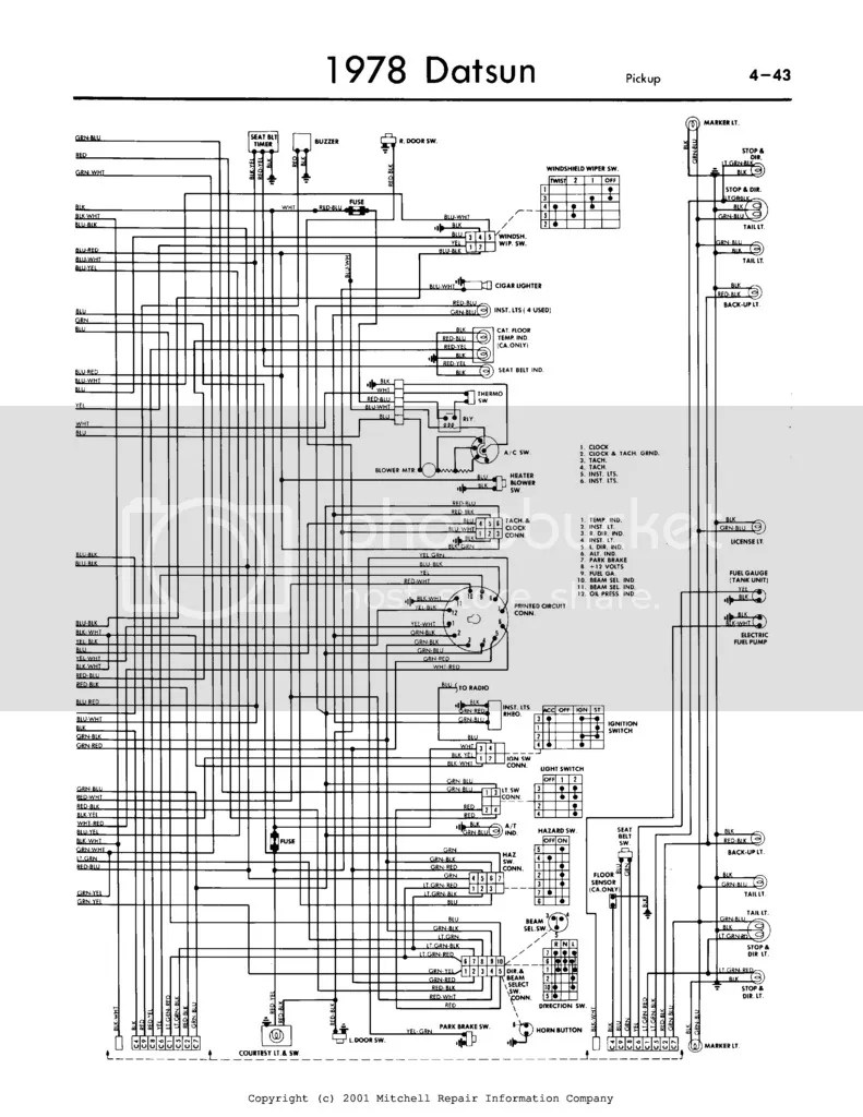 Datsun Wiring Story by Charlie Sixtynine (Charlie69_Datsun
