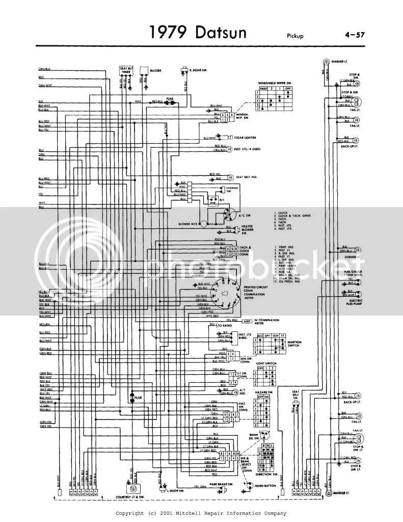 1979 Datsun Pick Up Wiring Schematic Diagram Of 2003 Suzuki Xl7 Engine For Wiring Diagram Schematics