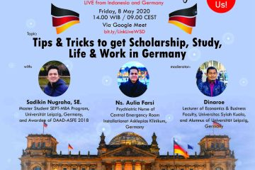 flyer webinar seminar scholarship day 2020