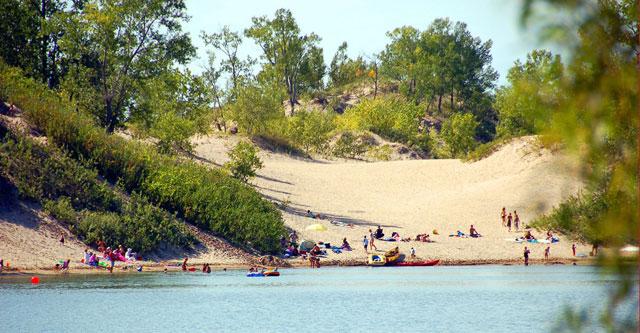 Sandbanks Pronvicial Park