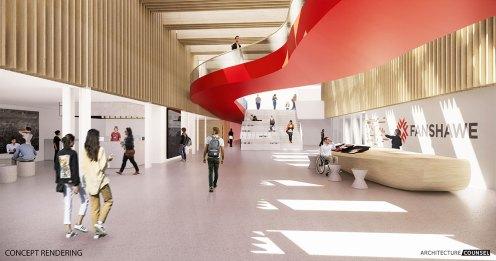Preview digital da Innovation Village do Fanshawe College