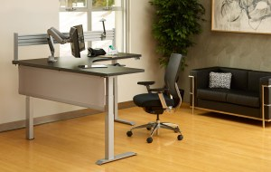 Titan - Sit to Stand Electric Desk