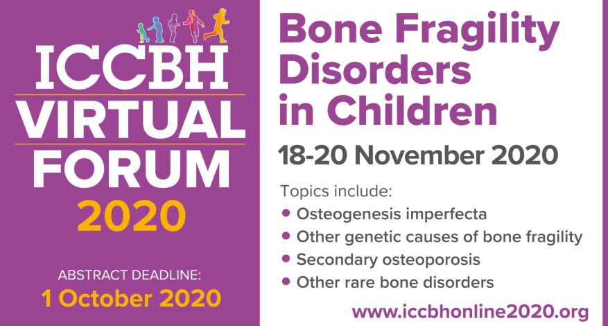 Flyer for ICCBH Virtual Forum.