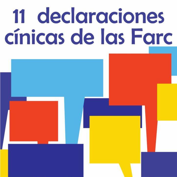 Boton 11 declaraciones cinicas de las Farc