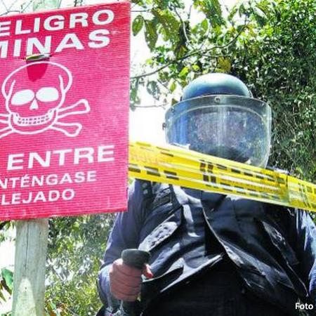Peligro minas anti persona