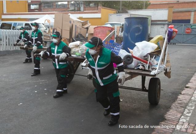 El sistema de aseo en Bogota no es sostenible