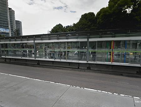 Estacion transmilenio Pepe Sierra