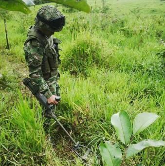 minas antipersona farc