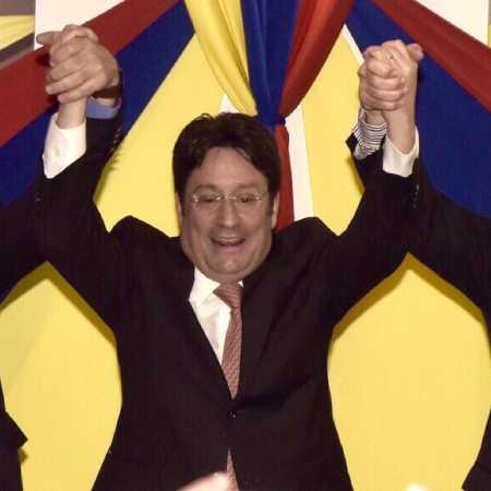 Pacho Santos alcalde de Bogota
