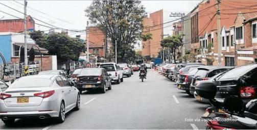 Parqueaderos publicos de Bogota