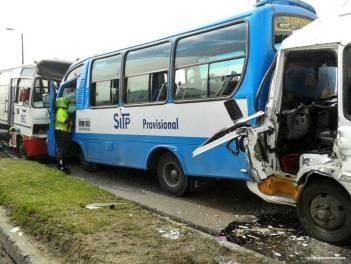 accidente de SITP