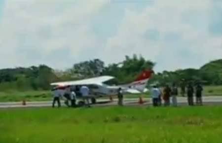 Avioneta secuestrada