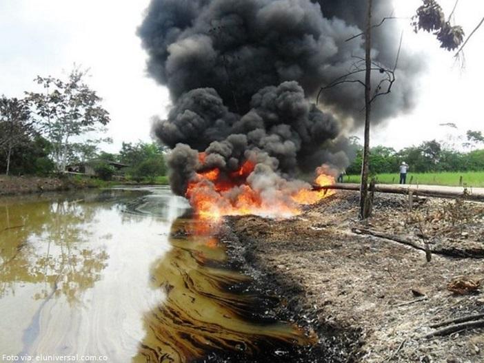 atentado petrolera