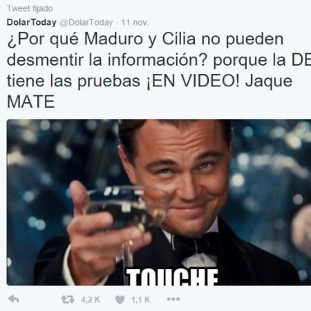 Maduro no puede desmentir a la DEA