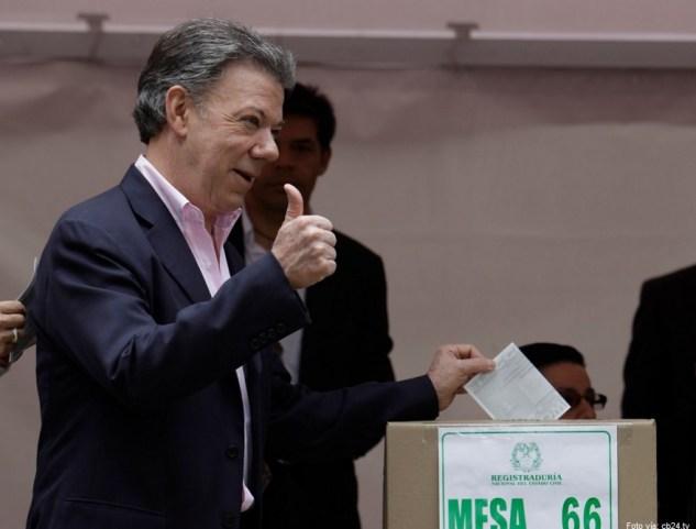 Santos votación