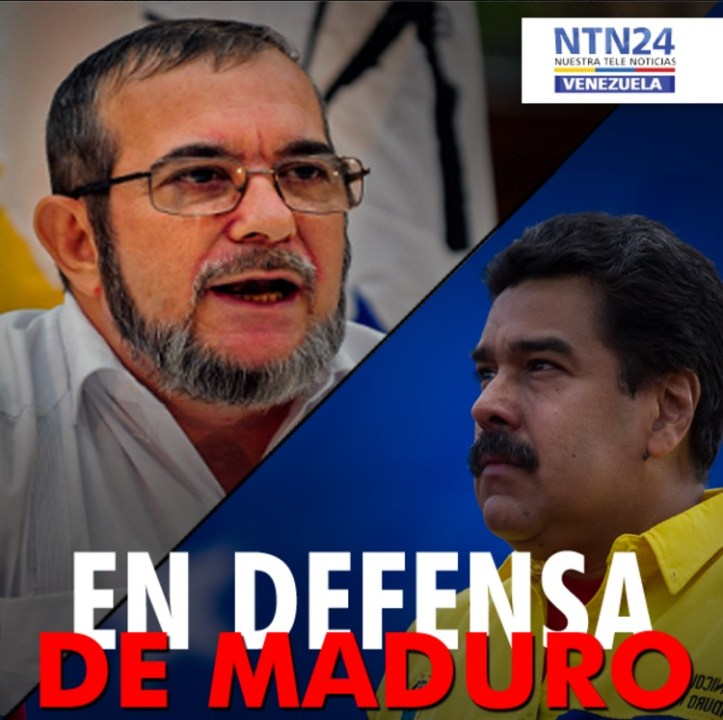 Timochenko defiende a Maduro