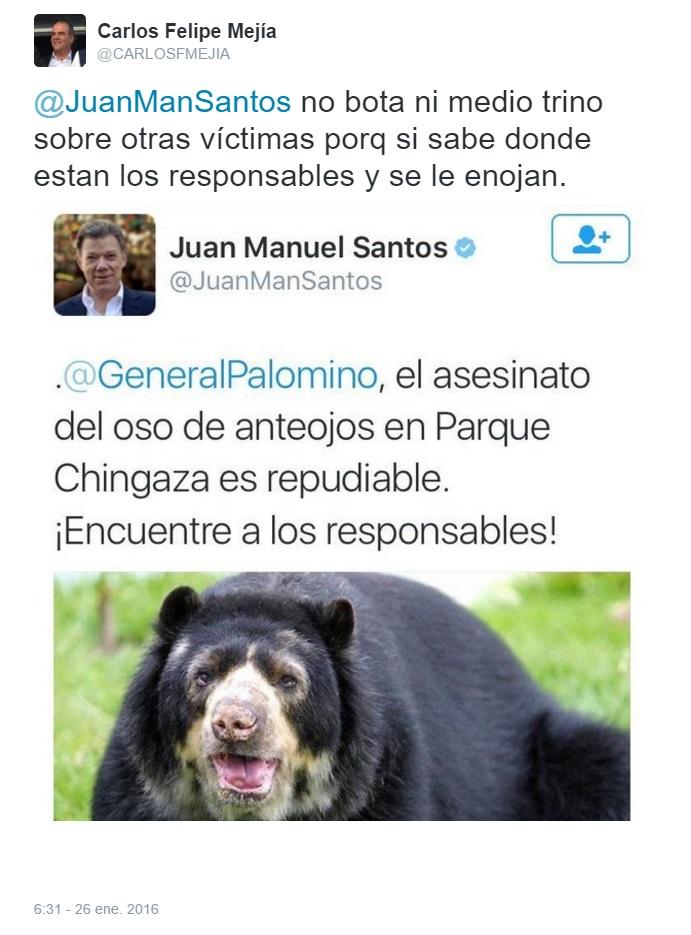 opinión Carlos Felipe Mejía