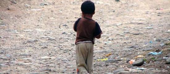 niños desnutrición