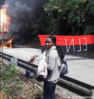 quema buses