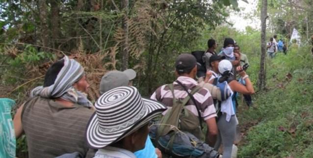desplazados colombia