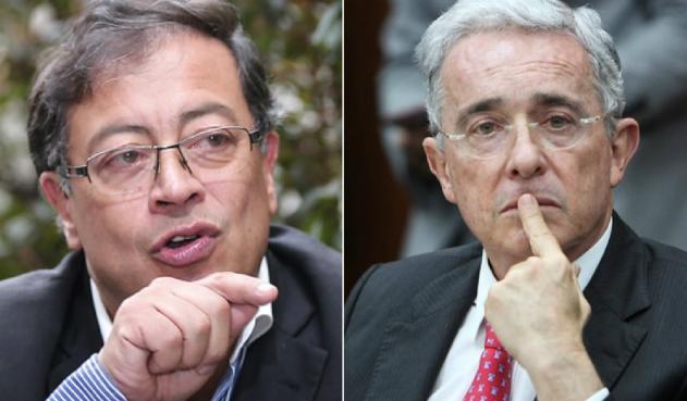 """Petro se pasa la ley por la """"galleta"""" y vuelve a atacar a Uribe"""