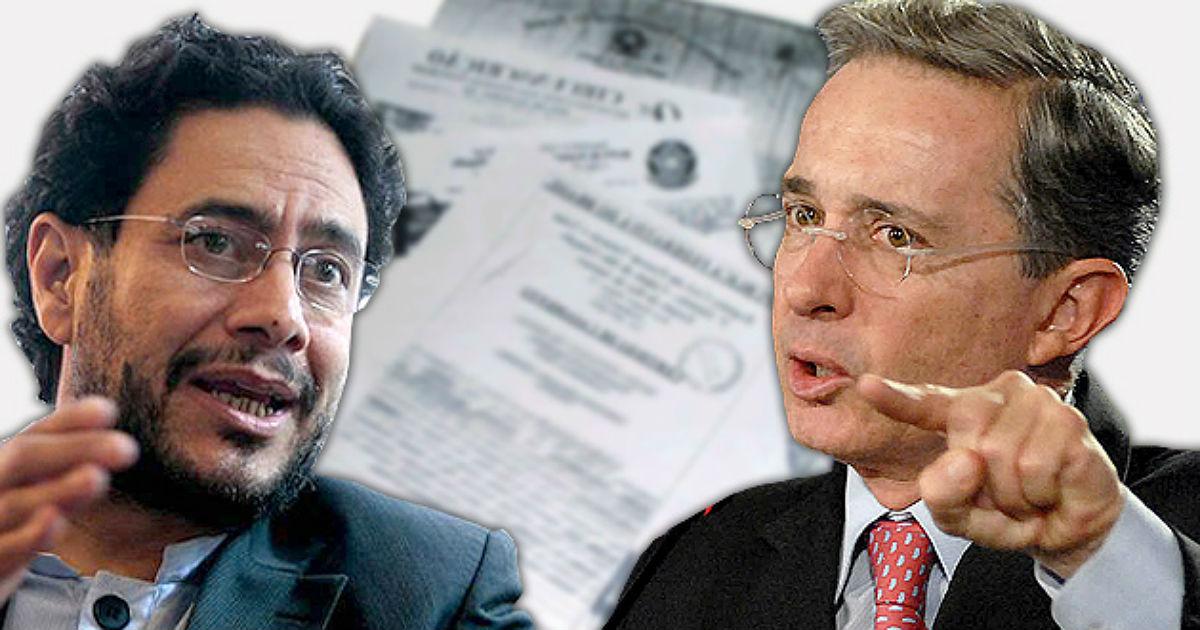 Sigue agarrón entre Uribe y Cepeda