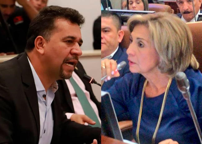"""Escándalo por representante de izquierda llamar """"zorrita"""" a congresista"""