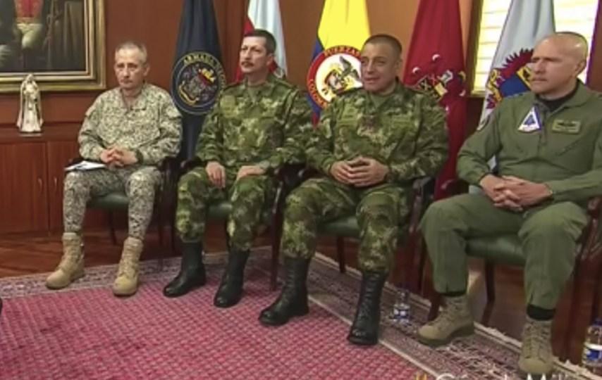 Nueva cúpula militar preparada ante una guerra con Venezuela