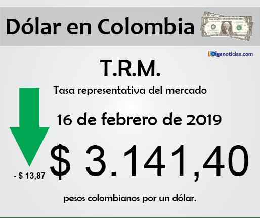 dolar 16feb2019