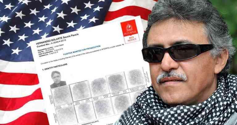 Estados Unidos entrega pruebas para extradición de 'Santrich'