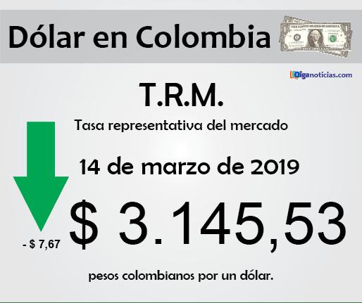 dolar 14mar2019