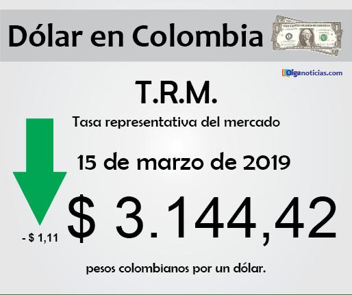 dolar 15mar2019