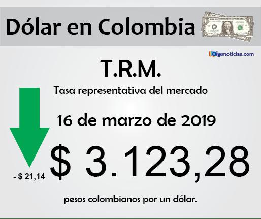 dolar 16mar2019