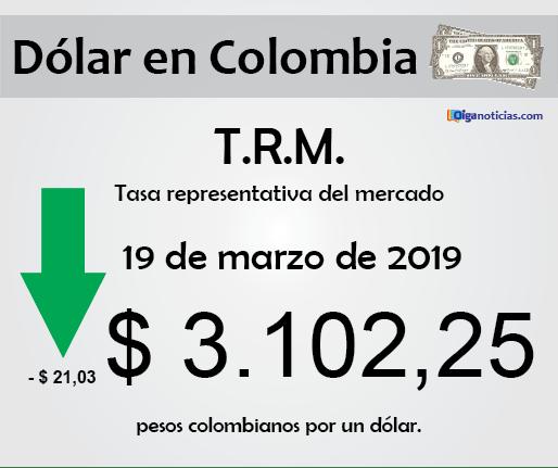 dolar 19mar2019