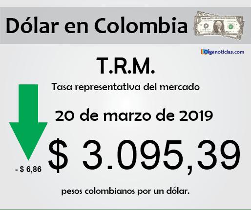 dolar 20mar2019