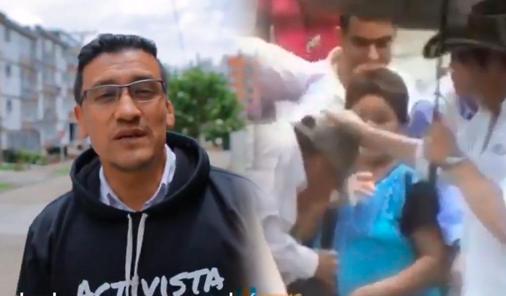 El coscorrón de Vargas que le sirvió a su guardaespaldas