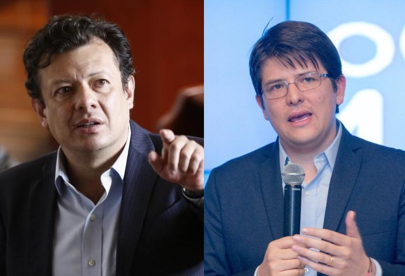 Fuerte cruce de palabras entre Miguel Uribe y Hollman Morris