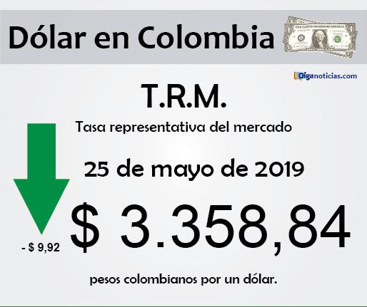 dolar 25may2019