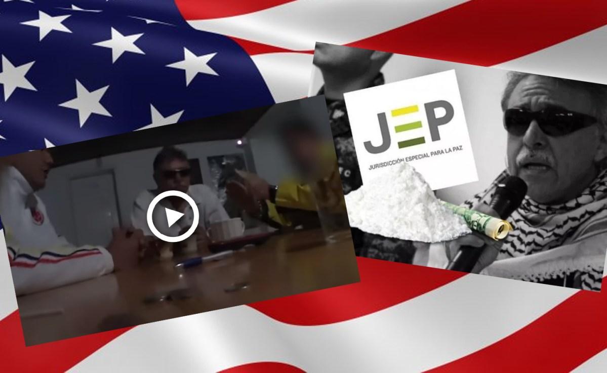 Nuevo video de Santrich negociando envío de coca a los Estados Unidos